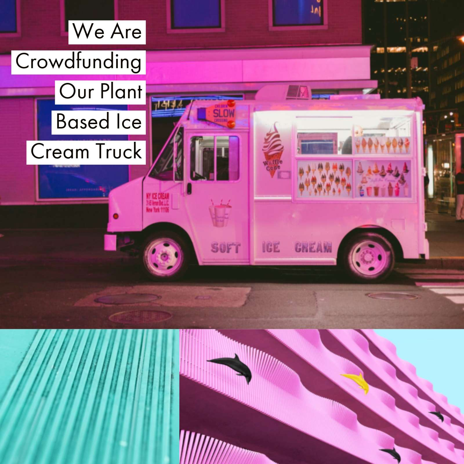 We are crowdfunding our plant based ice cream truck